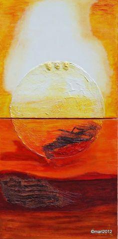 Kom binnen in de Kunstgalerie van Marl: Bormes 8-049 Mixed Media