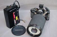 Yashica medical 100 DX  lens with Yashica FX-D quartz