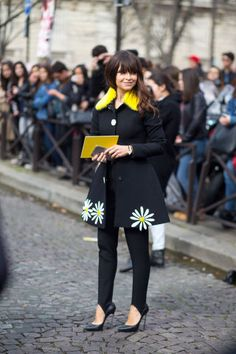 The best style and outfit inspiration to take from the looks at Paris Fashion Week, here: