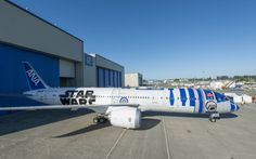 Boeing Paints Star Wars R2-D2 Plane for All Nippon Airlines