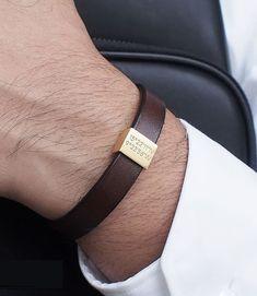Personalized Men Leather Bracelet / Coordinates Leather Band Bracelet / Men Bracelet / Gift for Him / Groomsmen Gift / HENRI BRACELET – Personalized Leather Bracelet Coordinates Bracelet for Men Diy Schmuck, Schmuck Design, Leather Accessories, Leather Jewelry, Men's Jewelry, Leather Bracelets, Bullet Jewelry, Diamond Bracelets, Silver Jewelry