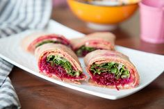 http://ift.tt/2hGmxmi  The Italian Oat Tortilla Wrap with Beetroot Hummus is a delicious peppery beetroot hummus wrapped in lettuce further wrapped in Italian Oat tortillas making it a wholesome teatime snack or even a weeknight dinner.  TheItalian Oat Tortilla Wrap with Beetroot Hummus can be served withLow Fat Vegetable Dip for parties.  Ingredients  100 grams Lettuce Leaves4 tortillas1 recipe beetroot hummusFor Tortilla 1 cup whole wheat flour80 grams Italian oats1/4 cup yogurtFor…