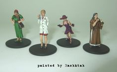 Painted all the miniatures | Mansions of Madness | BoardGameGeek