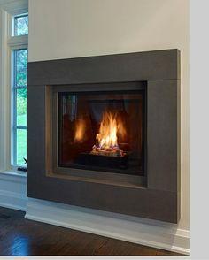 The Maddox Classic Stone Fireplace Mantel - Kit
