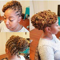 "409 Likes, 5 Comments - StylistMLondon (@locmamas) on Instagram: ""LOCMAMAS.COM #locs #locmamas #curlylocks #new #hair #best #locs #atlstylist #retwist #loctician…"""