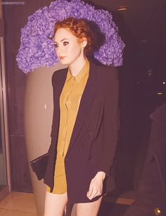 I'm obsessed with Karen Gillan's style