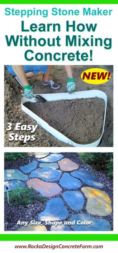 12 Best Stepping Stone Molds Images In 2019 Cement