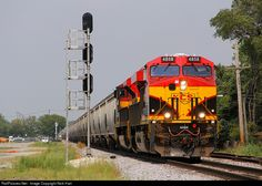 RailPictures.Net Photo: KCS 4858 Kansas City Southern Railway GE ES44AC at Bedford Park, Illinois by Nick Hart