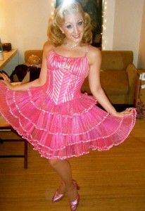 "Galinda ""Popular"" costume from Wicked"