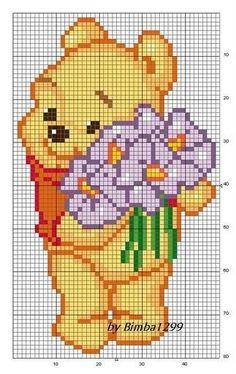 Winnie the Pooh perler bead pattern: