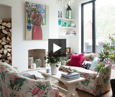 See Suzanne Dimma's favourite moments inside the colourful and creative home of textile designer Virginia Johnson. See more of this home in our April 2015 issue.