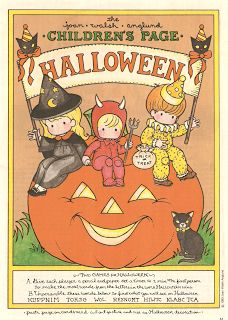 Miss Missy Paper Dolls: Halloween cut out decorations