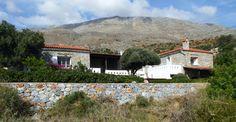 Stone built villa for sale close to the south coast of Crete.