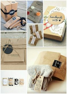 Packaging handmade