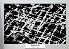 """""""ENTIKA""""  stampa su carta cotone montata su alluminio  cm 80 x 160"""