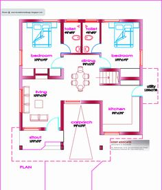 Indian house layout plans