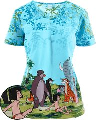 Let your inner child shine with our cartoon scrubs at Uniform Advantage! Shop now for Cherokee Tooniforms scrubs and Disney scrubs featuring all your favorite characters. Disney Scrub Tops, Disney Scrubs, Cute Scrubs Uniform, Stylish Scrubs, White Scrubs, Medical Scrubs, Nurse Scrubs, Cherokee Scrubs, Man Cub