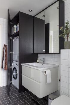Bilderesultat for vaskemaskin i skap