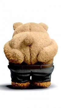 Mooned by Ted! Los Primates, Teddy Hermann, Funny Cute, Hilarious, Ted Bear, Teddy Bear Pictures, Love Bear, Cute Teddy Bears, Tatty Teddy