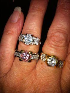 Diamond Candle rings look simply elegant.