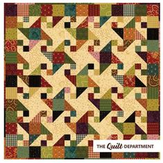 Kim Diehl fat quarter scrap bundle plus the Barn Dance quilt pattern from the Simple Whatnots Club Collection 5.