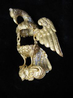 Gold Pelican of Piety - shipwreck treasure from the 1715 Spanish Plate Fleet, FL.