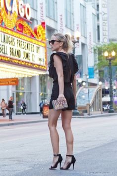 Rompers that are Ready for Summer Fun...Chicago Theater in the background :)