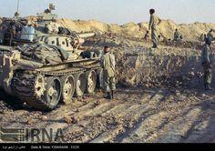 IRGC T-55 during Iran-Iraq war 1985