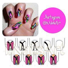 Photo by iiNailsArt(iinailsart): Scissors nail art ||