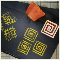 #wonderlandbylaviniailies #happyarrival #blockprint #models #happypaintingdays #makingprints #areontheway