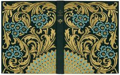 Luigi Castiglioni - Bookbinder - Italy.  Au Jardin des Gemmes - Léon Rosenthal - Illustrations by Léon Carré