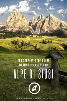Alpe di Siusi or Seiser Alm in South Tyrol/Alto Adige, Italy is Europe's largest high-alpine plateau Places To Travel, Travel Destinations, Places To Visit, Italy Travel Tips, Shopping Travel, Hiking Guide, South Tyrol, Wanderlust, Outdoor Travel
