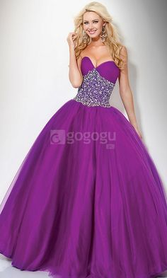 purple prom dress purple prom dresses | Dresses | Pinterest | At ...