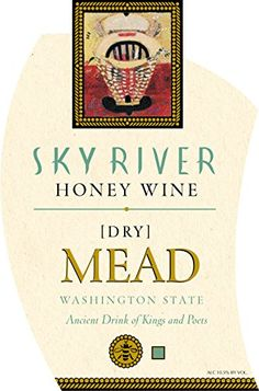 Mead Wine.  NV Sky River Dry Mead 750 mL *** Check this awesome product @ http://www.amazon.com/gp/product/B01DCMQPTM/?tag=wine3638-20&pfg=150816234055