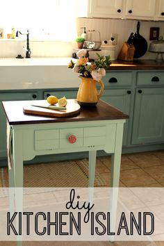 Diy Kitchen Island