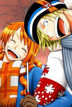 さんじ と なみ   Sanji and Nami. One Piece ワン ピース OTP XP