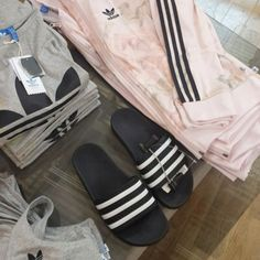 Jacket, shirt, slippers.