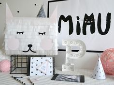 ... + Nina Designs + Parties: FIESTA: LITTLE KITTEN PARTY