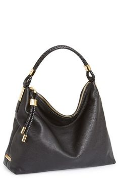 Michael Kors 'Skorpios' Leather Hobo available at #Nordstrom