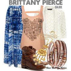 Inspired by Heather Morris as Brittany S. Pierce on Glee.