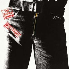 1971-Portada para Sticky Fingers - The Rolling Stones