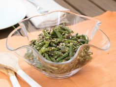 Get Lemon Speckled Green Bean Salad Recipe from Food Network