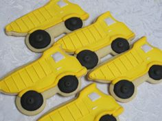 Highway Construction Sugar Cookie Collection by MartaIngros