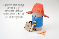 Paddington Bear lovers, will adore this easy to follow Paddington Bear Craft - complete with brown suitcase and marmalade sandwiches!