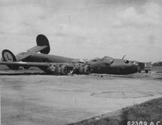 Incredible pictures of damaged B-24 Liberators that made it home
