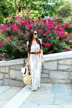 Welcome The Summer With A Casual Maxi Dress - fashionsy.com