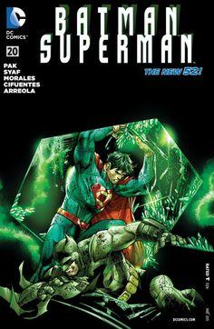 Batman/Superman (2013) #20 #DC #BatmanSuperman (Cover Artist: Sandra Hope Archer, Ulises Arreola Palomera & Ardian Syaf) Relase Date: 3/18/2015