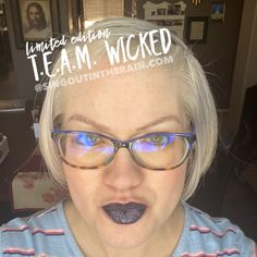 Limited Edition TEAM Wicked LipSense by SeneGence is a cool color. You can view it on people, look at combos or comparisons or even in a collage. However, nothing rivals seeing it on a real person. Click to purchase yours NHOW!! #lipsense #senegence Winter Makeup, Spring Makeup, Cosplay Makeup, Costume Makeup, Beauty 101, Beauty Hacks, Theatre Makeup, Makeup Tips, Makeup Ideas