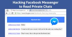 Cross-origin bypass vulnerability in Facebook could have allowed hackers to read all your Private Facebook Messenger Chats