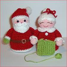 Resultado de imagen para papa noel tejido a crochet patrones